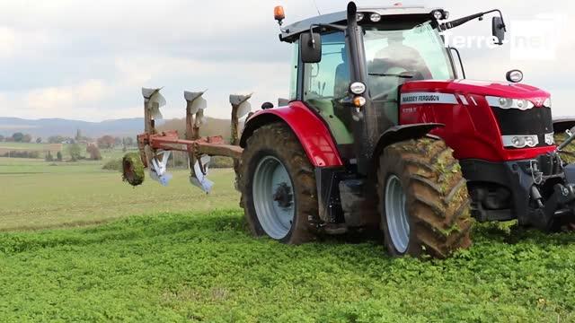 Essai tracteur Massey Ferguson - Paul Rigaux: «Le 6718S, le plus puissant modèle 4 cylindres»
