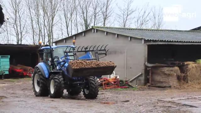 Essai tracteur New Holland - Polyvalent, maniable et compact: le T5 est-il vraiment taillé pour l'élevage?