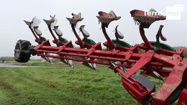 Julien Nolleau: «2500S i-Plough, portée au travail, semi-portée au transport»