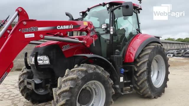 Essai tracteur d'élevage - Case IH Luxxum: un tracteur résolument élevage