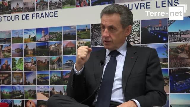 Nicolas Sarkozy: «J'incarne une alternance forte pour les agriculteurs»