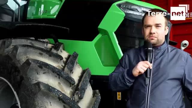 [Vidéo] Tracteur Deutz-Fahr 9340 TTV - Simon Houdayer: «Simple d'utilisation et économe en carburant! »