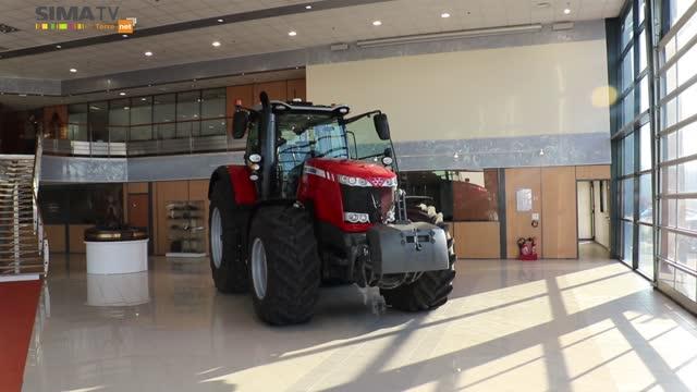 Nouveauté tracteur - Le Massey Ferguson 8740, le vaisseau amiral Made in France de la marque