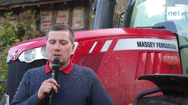 Essai tracteur Massey Ferguson - Benoît Guéroult: «Avec le 6718S, je peux tout faire! »