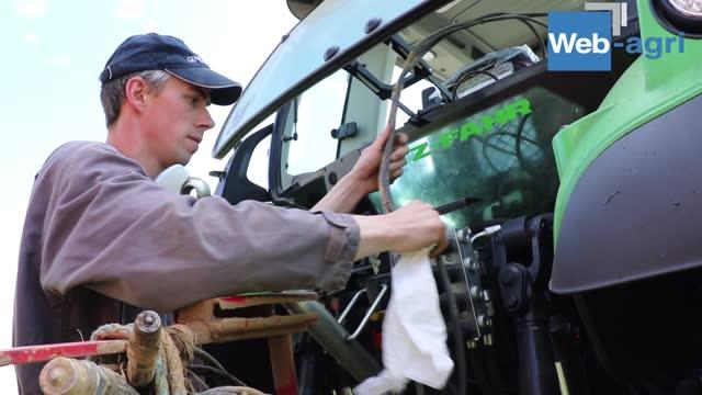 [Vidéo] Essai Deutz-Fahr 6165-4 TTV - Rémi Gillet: «Un tracteur intuitif, maniable et précis»