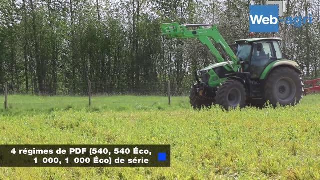 [Vidéo] Essai tracteur Deutz-Fahr - Le 6165-4 TTV passé au crible avant 8 jours d'épreuve immergé dans un élevage