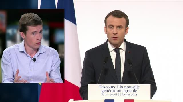 Emmanuel Macron prône la «révolution culturelle»