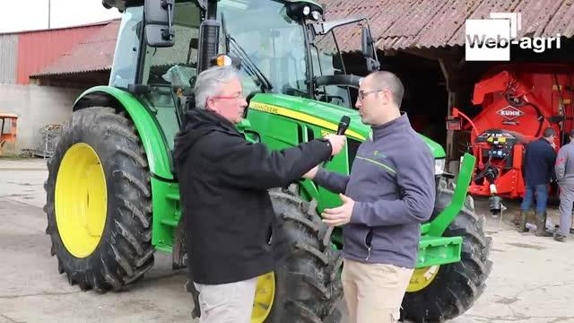 Essai tracteur - John Deeresérie 5R, le p'tit américain compact et suréquipé