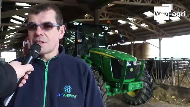 Essai John Deere 5R - Frédéric Anty: «L'équipement d'un tracteur de plaine et le gabarit d'un 100ch»