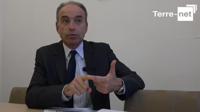 Jean-François Copé : «Remettre les agriculteurs français en haut du podium»